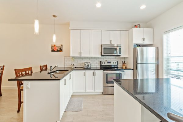 Kitchen of home for sale in the Fraser Valley