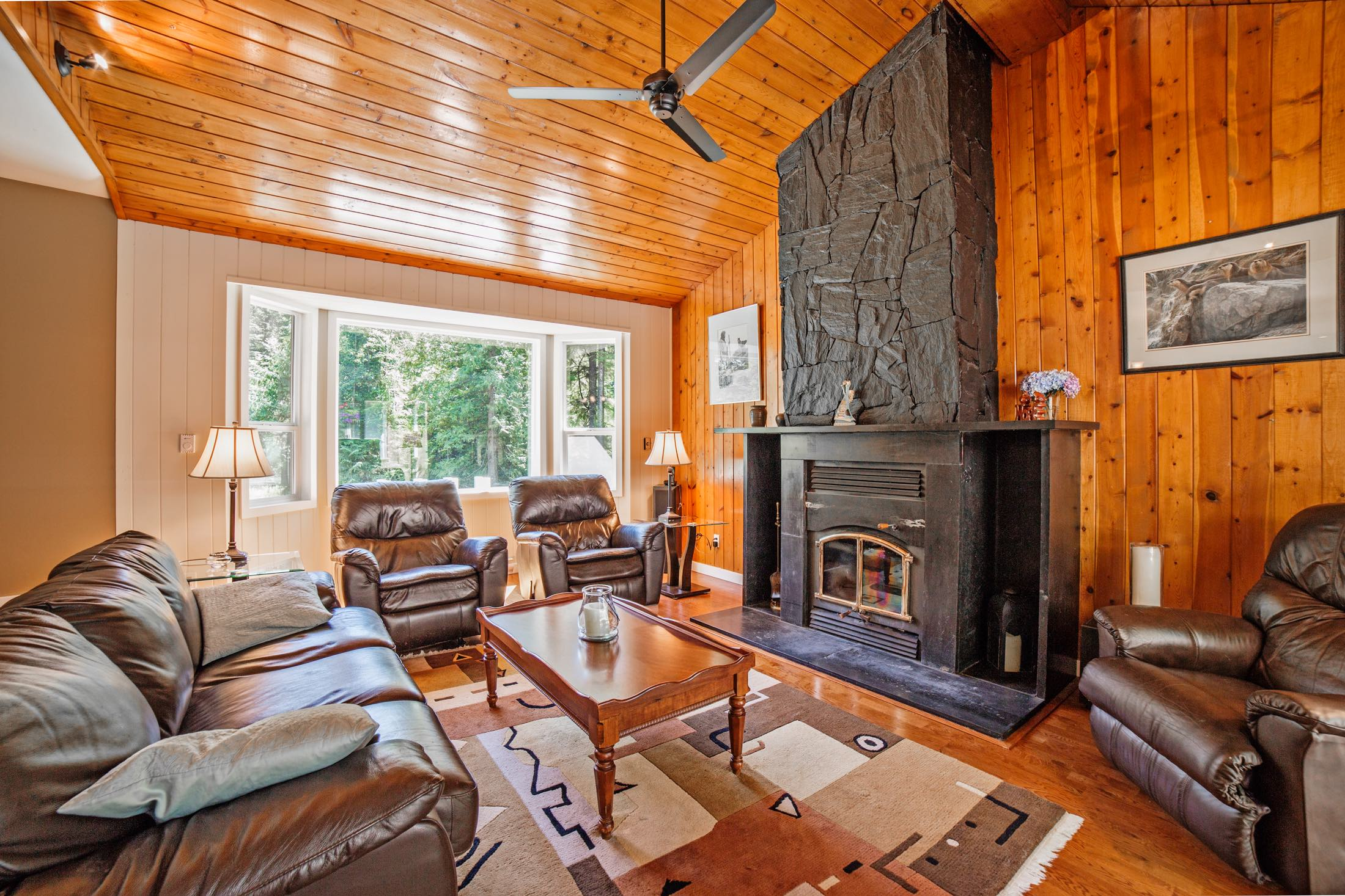 Living area of a home for sale in Mission BC