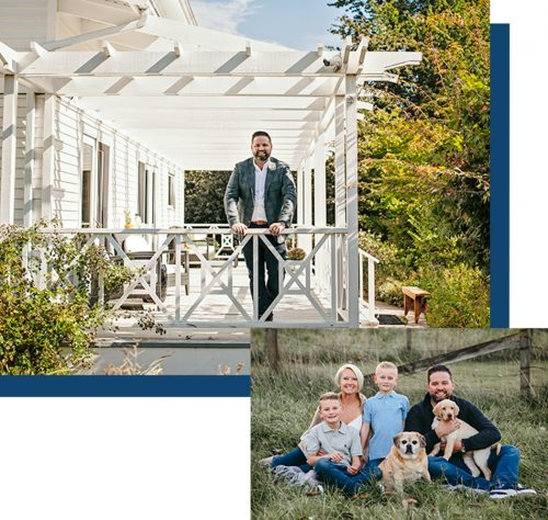 About Realtor Bob and his family